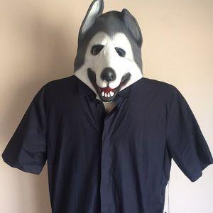 Wolf Costume Mask NWT 3 pcs Men's